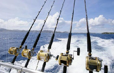 Fishing open ocean